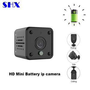2018 New Portable ONVIF HD With Battery Powered Operated Night Vision Hidden CCTV Security Wireless WIFI IP Mini Camera
