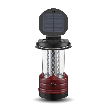 CR-8037S Changrong 30LED Solar Camping Lantern