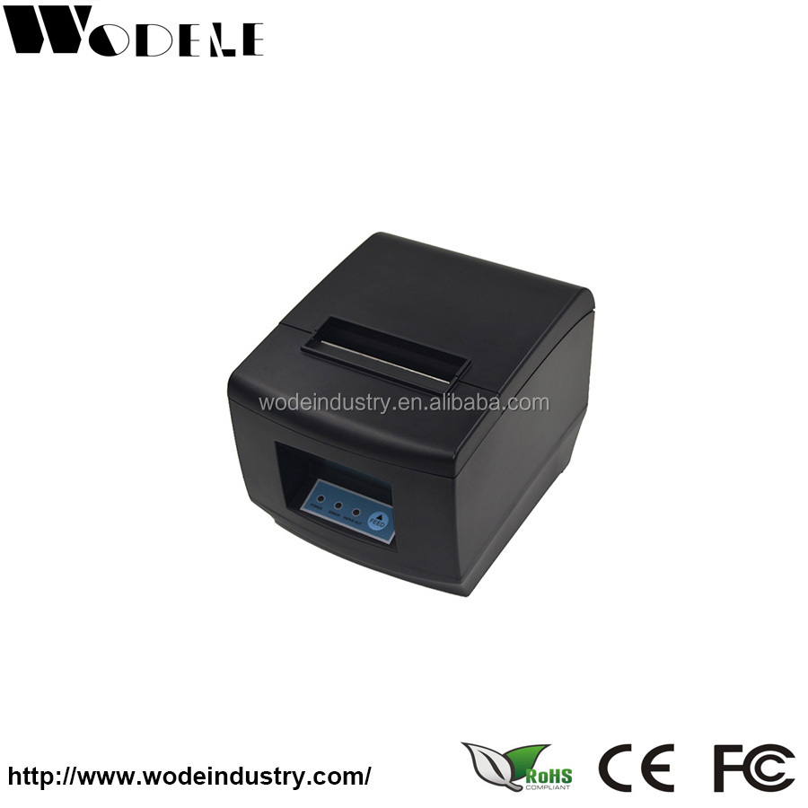 80mm Wireless Restaurant Thermal Printer with DHCP function Raspberry Pi 2