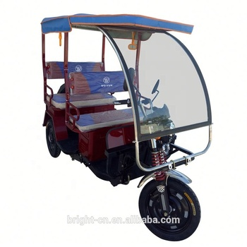 high quality cheap taxi Electric tricycle with passenger seat for sale