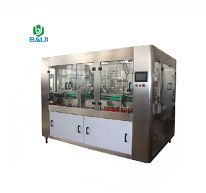 Automatic soda drink tin can filling bottling capping machine / production line