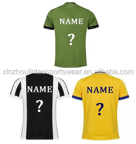 Wholesale price Higuain Dibala soccer jersey 17/18 season thailand quality customized Mandzukic Chiellini football shirt