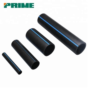 Pe Large Diameter Black Plastic Water Pipe Roll Price