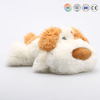 toy sleeping dog looks real,fake fur sleeping dog