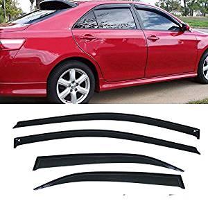 4pcs Visor Rain Guards For Toyota Camry 2007 2008 2009 2010 2011 4Door CE LE