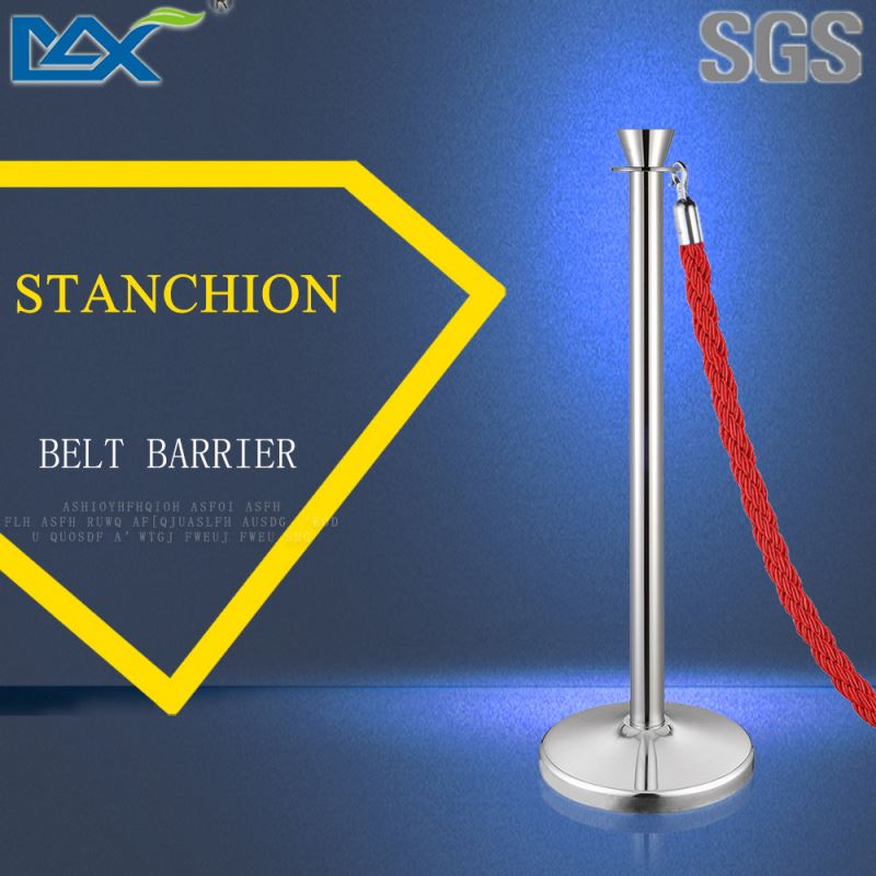 two safety restaurant stanchion ,scaffolding pipe stanchion