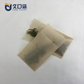 Biodegradable unbleached filter paper long tea bag