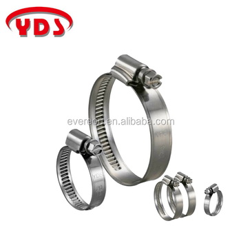 Taiwan stainless steel pipe hose clamp clip for auto body parts and woodworking machinery