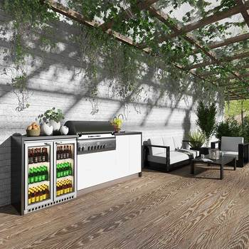 Water And Heat Resistant Outdoor Kitchen Cabinet - Buy ...