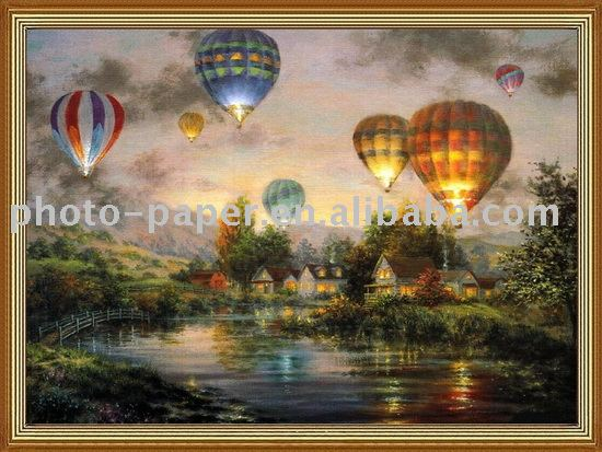 Cotton Canvas painting& Inkjet Canvas painting & Matte canvas painting, professional