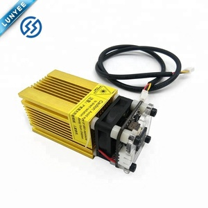 2500mw Adjust Focus 445nm 3P Gold 12V Blue Laser
