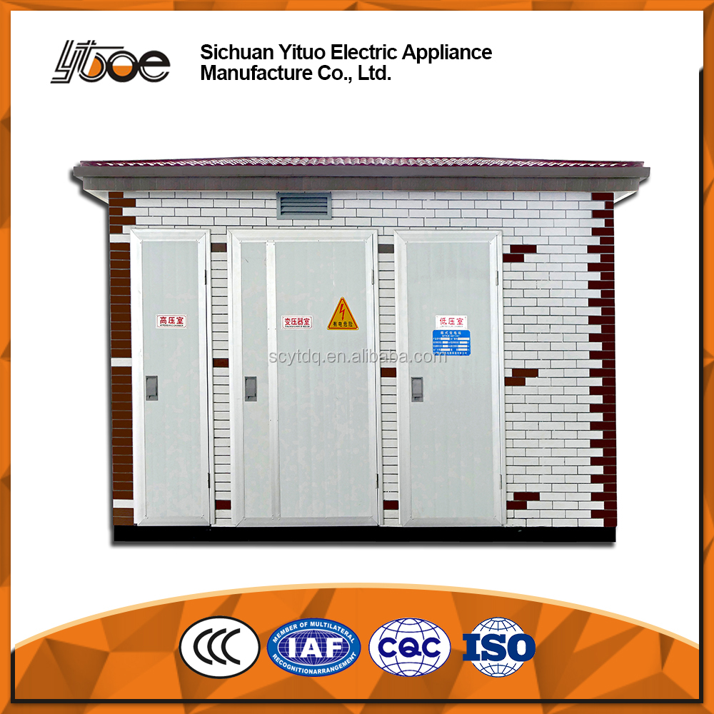 YB Series Outdoor European Type Prefabricated Substation