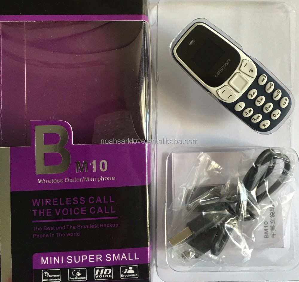 BM10 mini 3310 mobile phone 2.4 music screen double card double to support multinational language foreign language