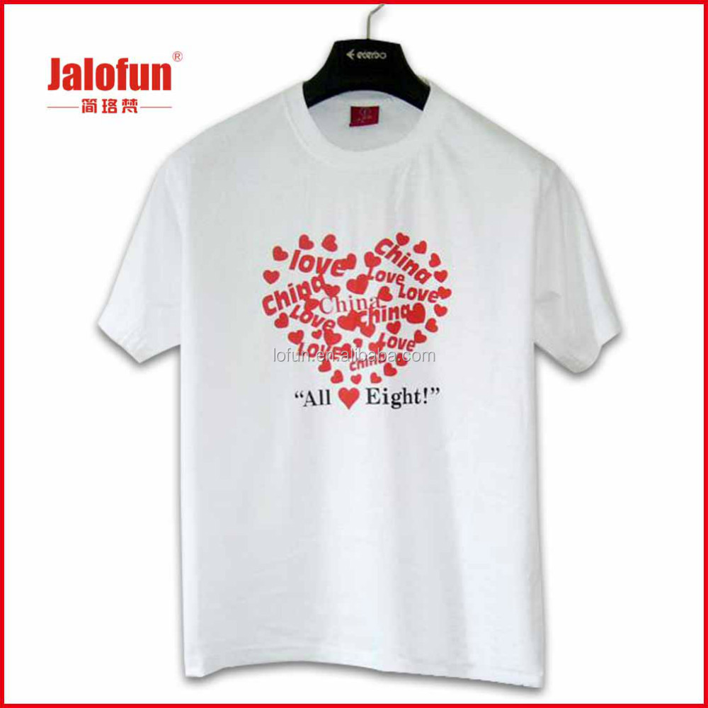 Good Price Custom t shirt With Heat Transfer Printing