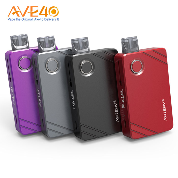 AVE 40 Original Electronic Cigarette Vape Wholesale  Artery PAL II Pod Starter Kits 1000mAh