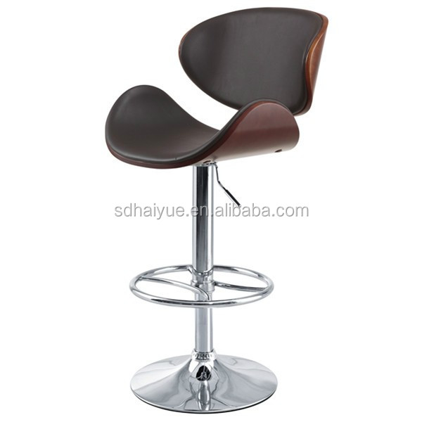 Foshan Hot sale high quality reclining bar stool chair with footrest