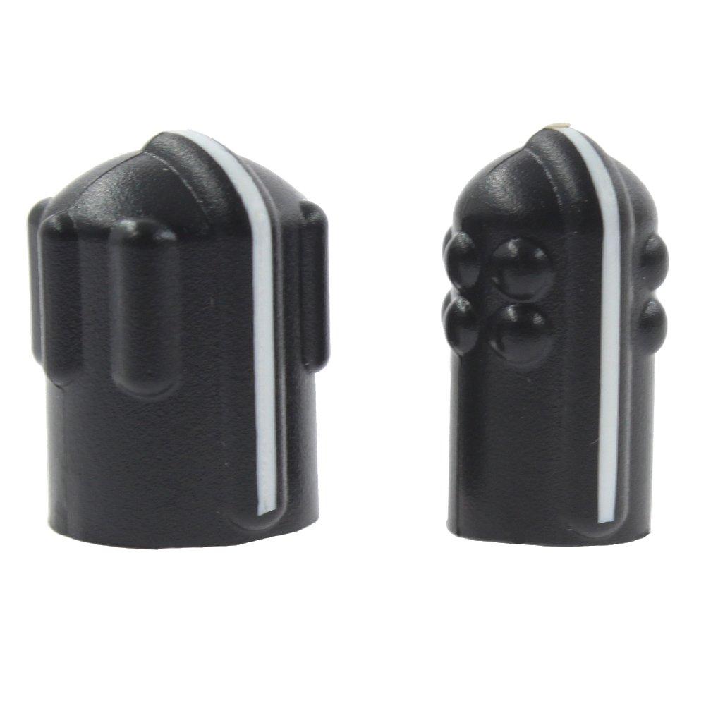 KENMAX® Volume Knob Channel Knob Repair Parts for Two Way Radio Motorola Radio Motorola MTX838 MTS2000