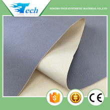 classic genuine leather grain absorbent and breathable eco pu lining for shoes synthetic leather