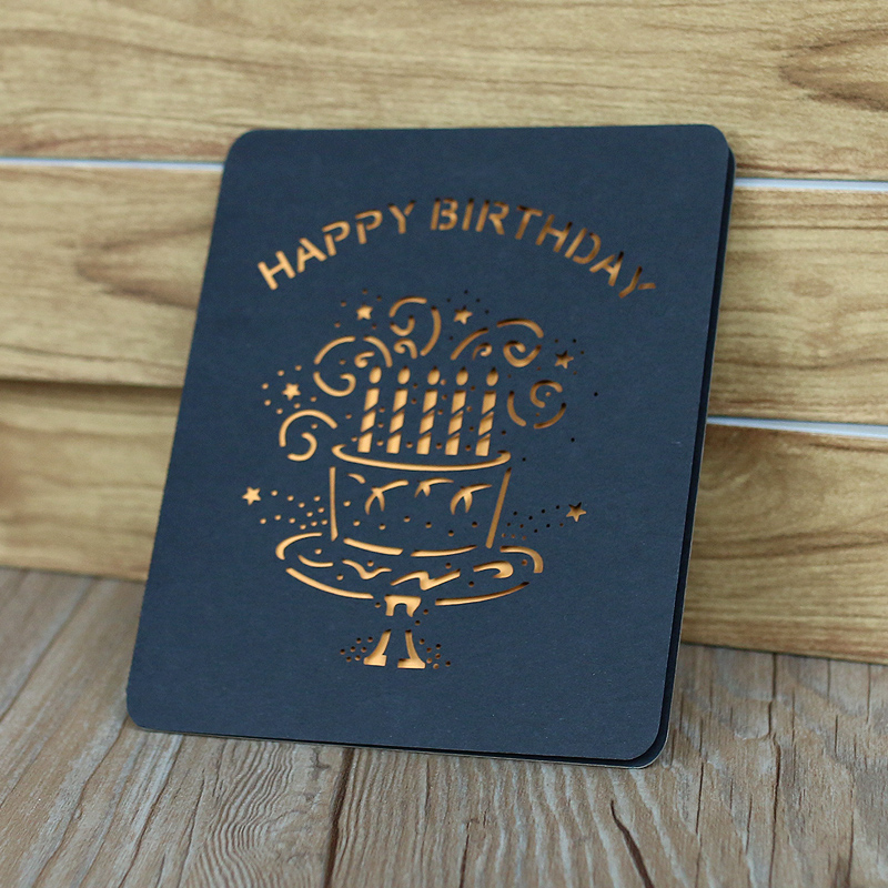 Specialized Cheap handmade Best Birthday Greeting Card Funny Printable Custom Birthday Card