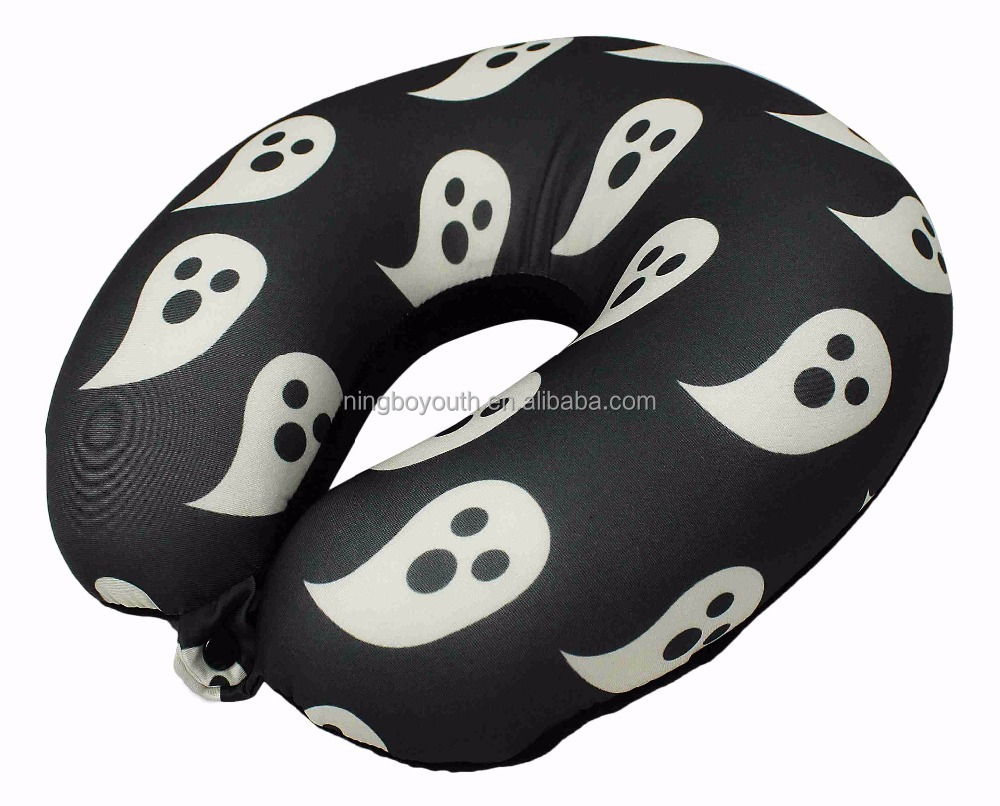 TA59709 Microbead U Shaped Travel Pillow Airplane Car Bus Comfort Head Support Neck Pillows