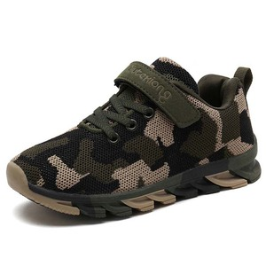 09e09ef275dc 2018 New Children Footwear Kids Sport Sneakers Casual Camouflage Shoes for Boys  Girls Wholesale
