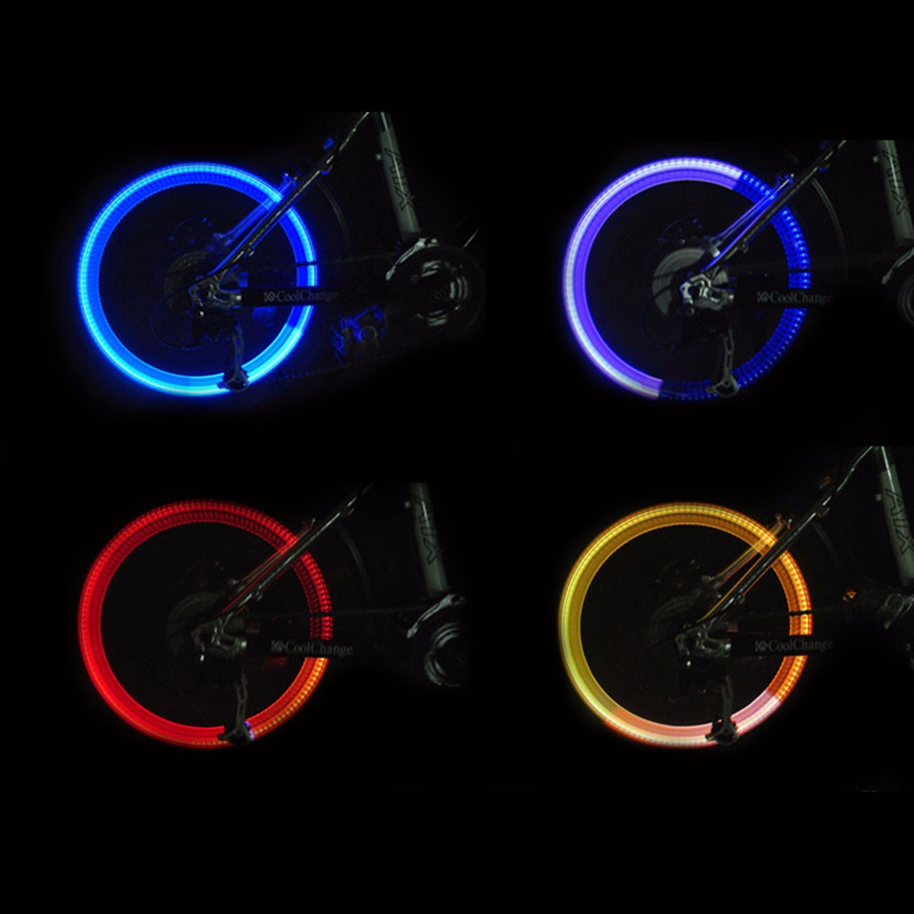 0467352ba53 2019 Wholesale Bike Bicycle Cycling Tire Valve Caps Light Neon Wheel ...