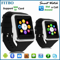 2016 Popular Slim Bluetooth 4.0 latest wrist watch mobile phone For Android Samsung HTC LG