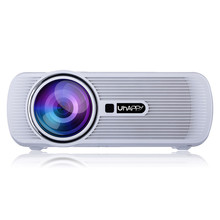 Mini Portable 3D Digital LED Projector With 1000 Lumens Native Resolution 800×480 Support 720p Full HD 1080p Video Projector
