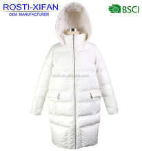 Russian Newest Women Duck Down Feather Winter Coat Warm Long Coat For Ladies Plus Size Clothing Wholesale
