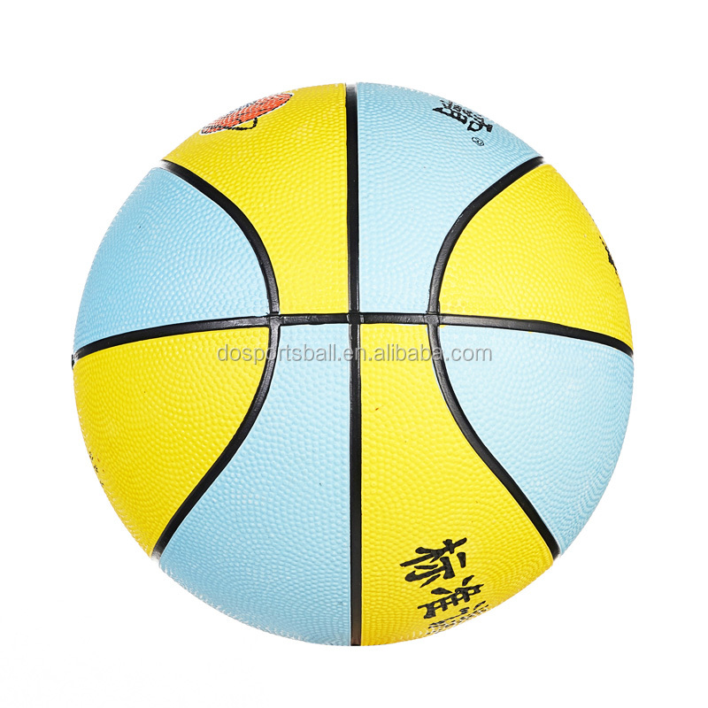 China manufacturer cheap price basketball mini size 3 custom logo printed kids rubber basketball
