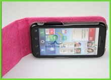 beautiful pink mobil phone leather cover for moto