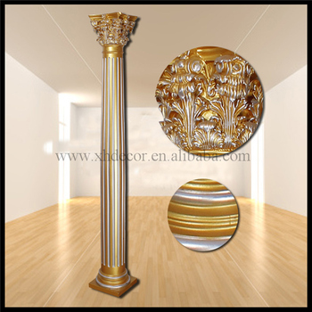 Frp Decoration Roman Column/pillar PU Roman Column /Home Decor/indoor Decorative  Columns