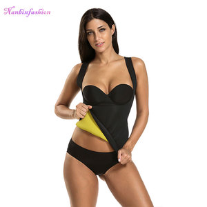 Hot Sweat Ultra Neoprene Waist Trainer Slimming Sauna Vest Body Shaper