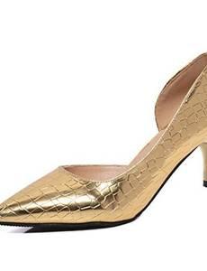 Get Quotations · VU*LK Women's Shoes PU Summer Heels Heels Casual Stiletto  Heel Others Black / Red