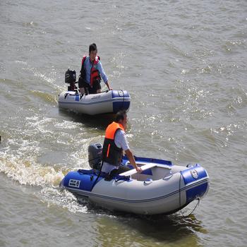 Uitgelezene 5 M Plastic Roeiboot Opvouwbare Opblaasbare Boot Met V Vorm Bodem CL-83
