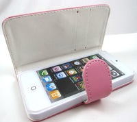 hot wallet case for iphone 5 high quality PU