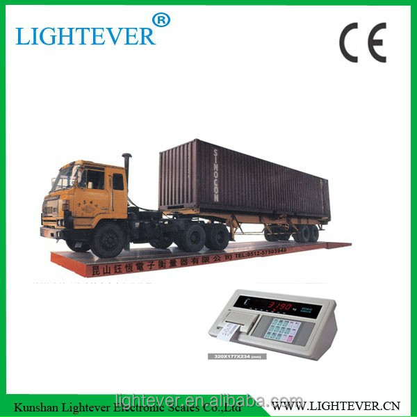 SCS 50 ton 40 ton truck scale weighbridge for industrial