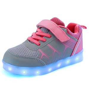 Hot Selling LED Light Shoes 3 Color Changing LED Light Shoes Led Shoes for Kids