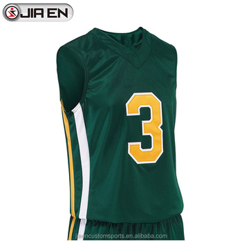 New Style Basketball Vests Design Custom Green Philippines
