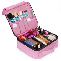 Lokass Large Capacity Portable Make Up Case Makeup Bag Organizer Cosmetic Beauty Case For Women
