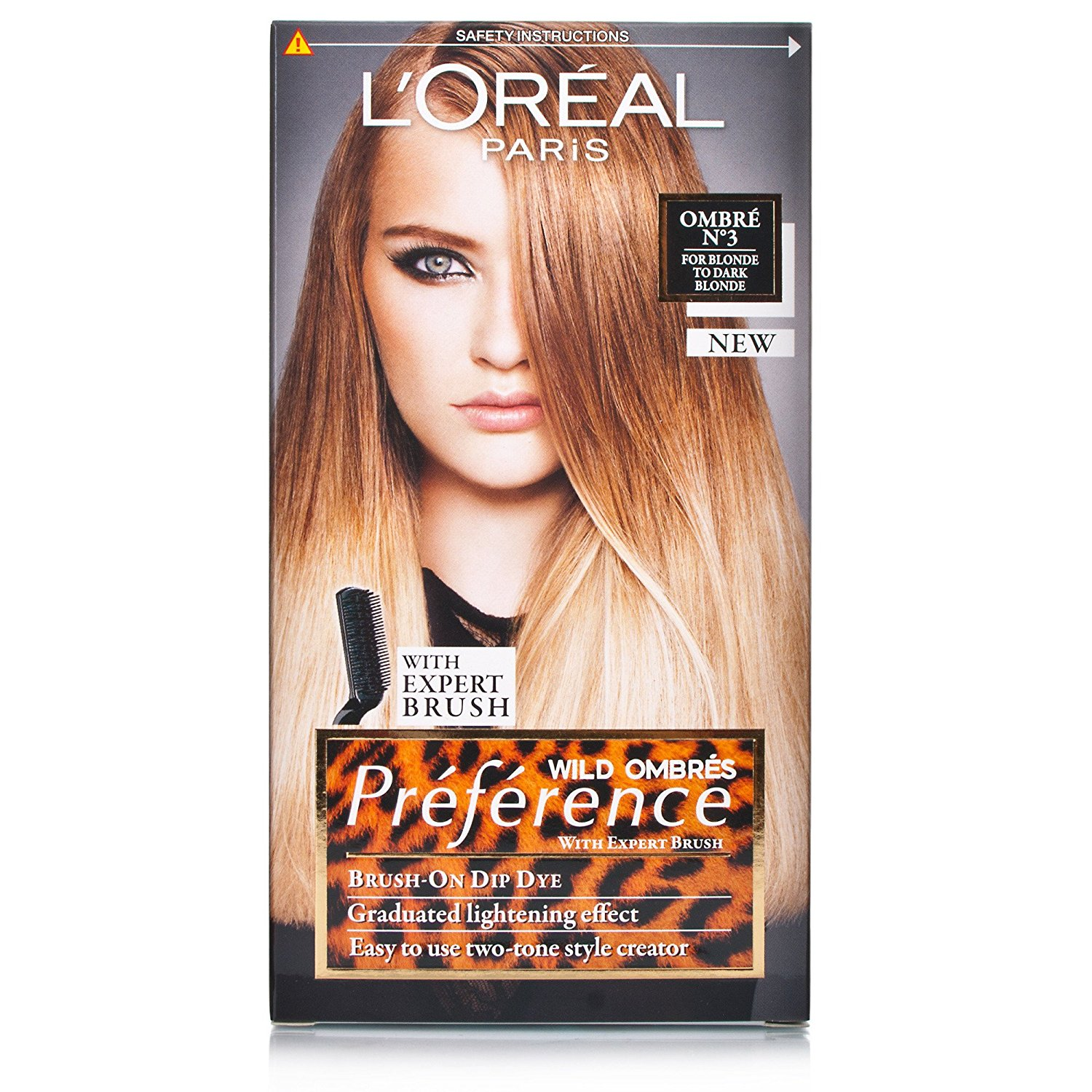 Buy Loreal Preference Wild Ombres Dip Dye Hair Kit No 3 Blonde To