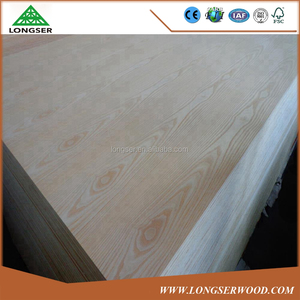 Wall Decoration 18mm Ash Plywood for Furniture