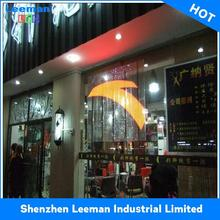 outdoor led screen on glass wall p4 indoor led screen