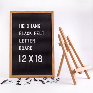 Wholesale custom durable slotted felt letter board for display