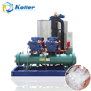 Koller KP20 flake ice machine 2 tons per day for food or fish integrated design