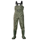 pocket and waist belt Prevent washed away 100% waterproof 70D waterproof Nylon fishing chest wader