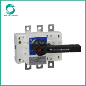SGL series 63A-2500A TUV,CE,CB,IEC fuse disconnecting load break isolating switch