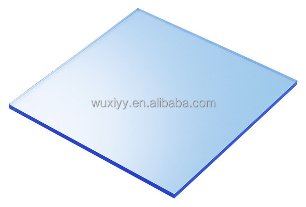 High quality colorful transparent cheap blue acrylic sheet