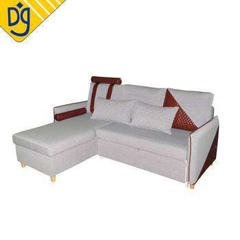 Latest Modern Sectional Convertible Storage Corner Smart Sofa Bed ...