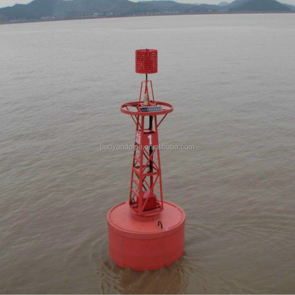China manufacturer red/green UHMWPE lateral marker buoy